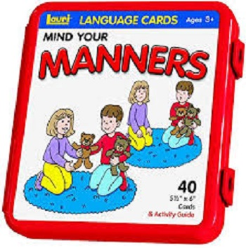 Language Picture Cards Mind Your Manners