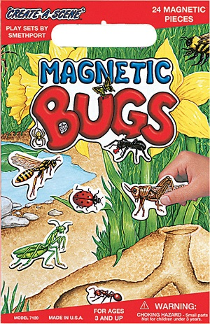 Create A Scene Magnetic Playset  Bugs