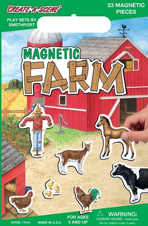 Create A Scene Magnetic Playset  Farm