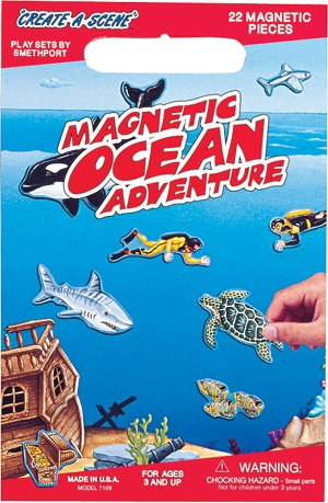 Create A Scene Magnetic Playset  Ocean Adventures