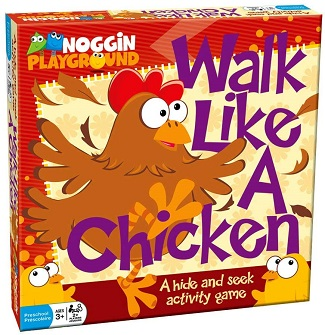 Walk Like a Chicken - An Activity Hide N Seek Board Game