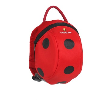 Little Life Daysack with Rein - Lady Bug