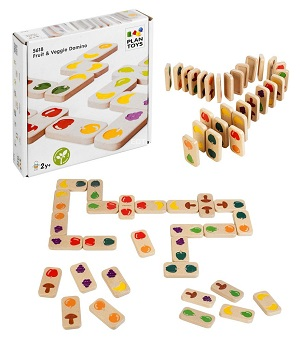 Fruit And Veggie Dominoes