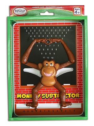 Monkey Calculator Subtraction