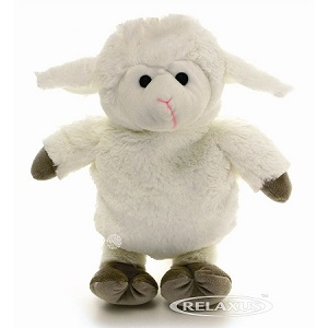Cuddle Sheep with Hot and Cold Pack