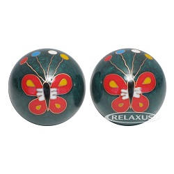 Harmony Balls Butterflies Set of Two