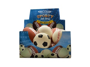 Sporty Anti Stress Gel Balls