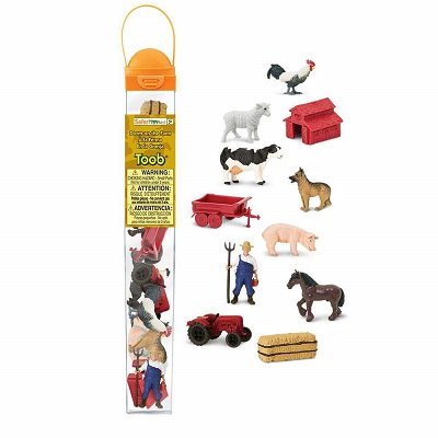 Down On The Farm Figurines - A Safari Brand Toob