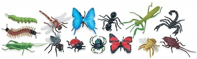Insects Play Figurines - Set of 6