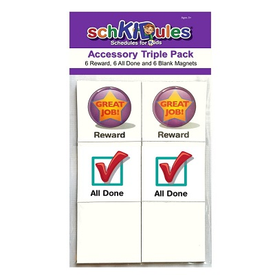 Accessory Triple Pack - 18 Pieces