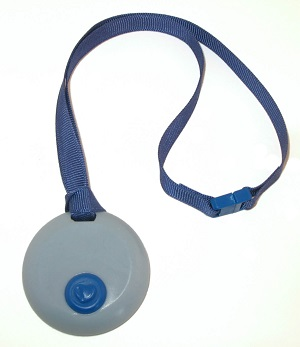 Circle Chewy with Breakaway Lanyard