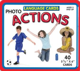 Language Picture Cards Actions