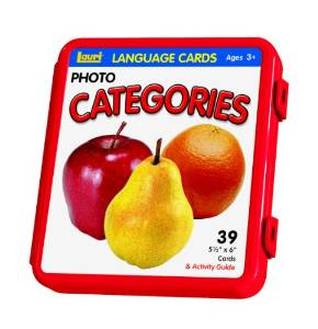Language Picture Cards Categories