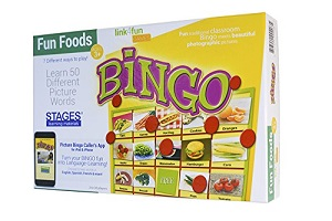Link 4 Fun Bingo - Fun Food