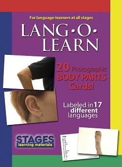 Lang O Learn Cards - Body Parts