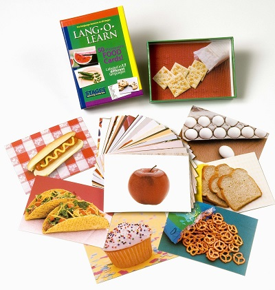 Lang O Learn Cards - Food Cards