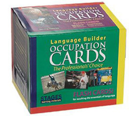 Stages Language Builder Occupation Cards