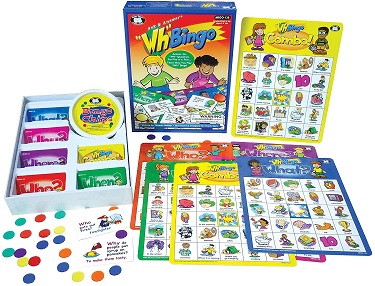 "Ask & Answer 'WH"" Bingo Game"