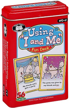 Using 'I and Me' Fun Deck