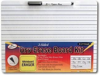 2- Sided Dry Erase Board Kit