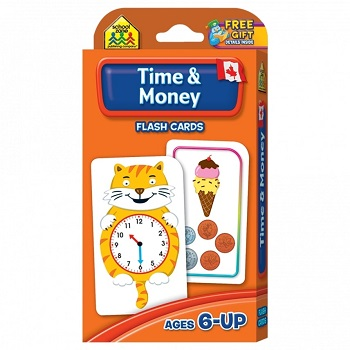 Time and Money Flash Cards - Canadian Currency
