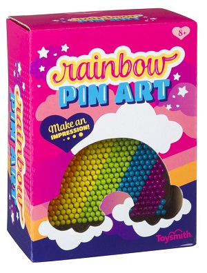 Rainbow Pin Art