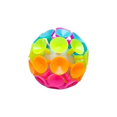Jumbo Suction Ball - Light Up