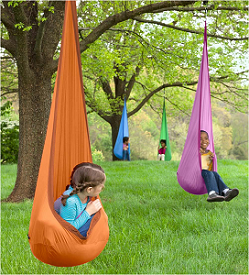 Huggle Pod Lite Hanging Pod Chair/Swing