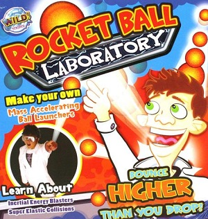 Wild Science Create A Rocket Ball Play Day Kit