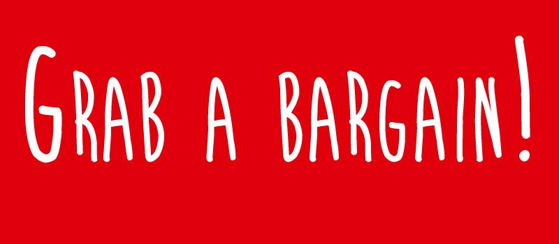 Bargain red stamp stock photo © Martin Crowdy