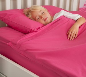 Kids Zip Sheets - Pink