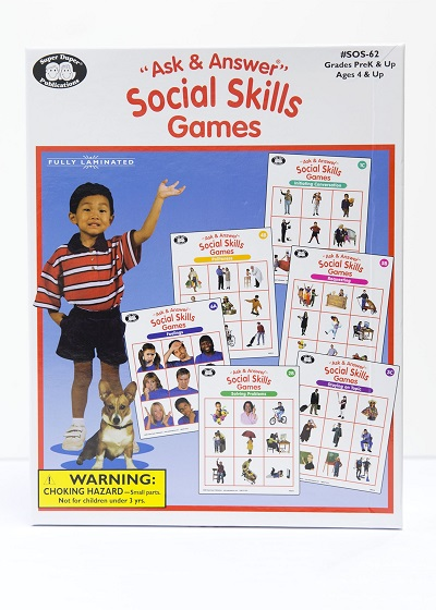 """Ask and Answer"" Social Skills Game"